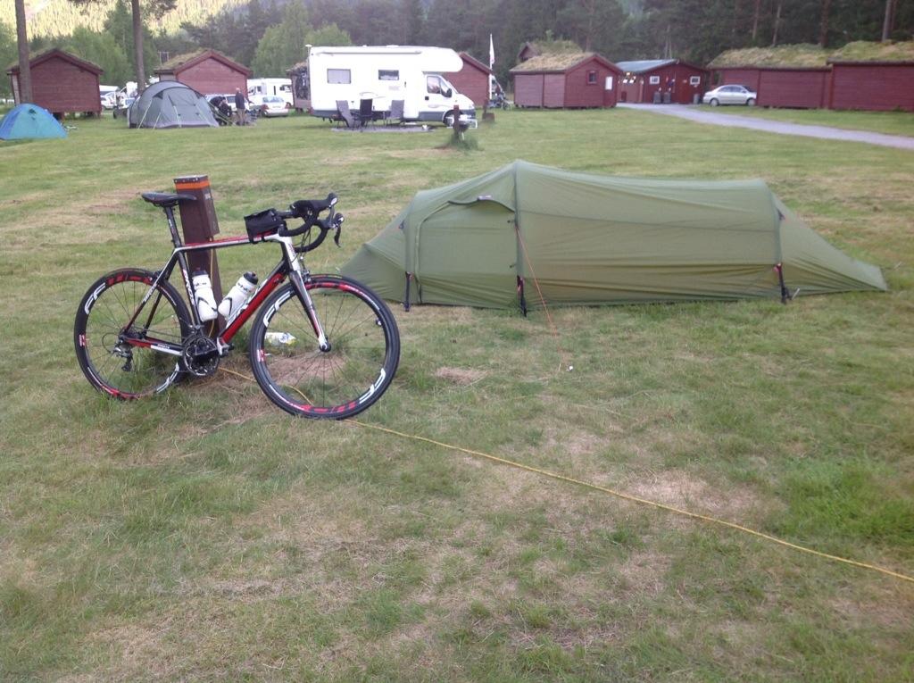 Sykkeltur med telt i sekken – Dag 1