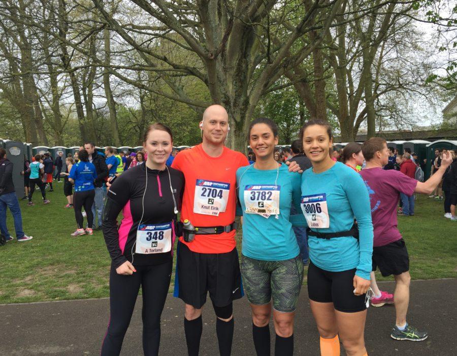 Halvmaraton fullført!