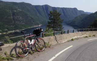 Sykkeltur fra Sirdal til Bø i Telemark – 2013