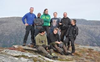 Guttatur i fjellet fra Rullestad til Kyrping – 2013