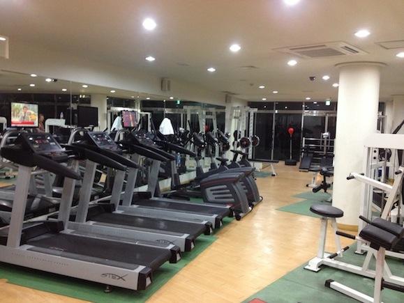 Trening  i  Korea  mot  Styrkeprøven  2013