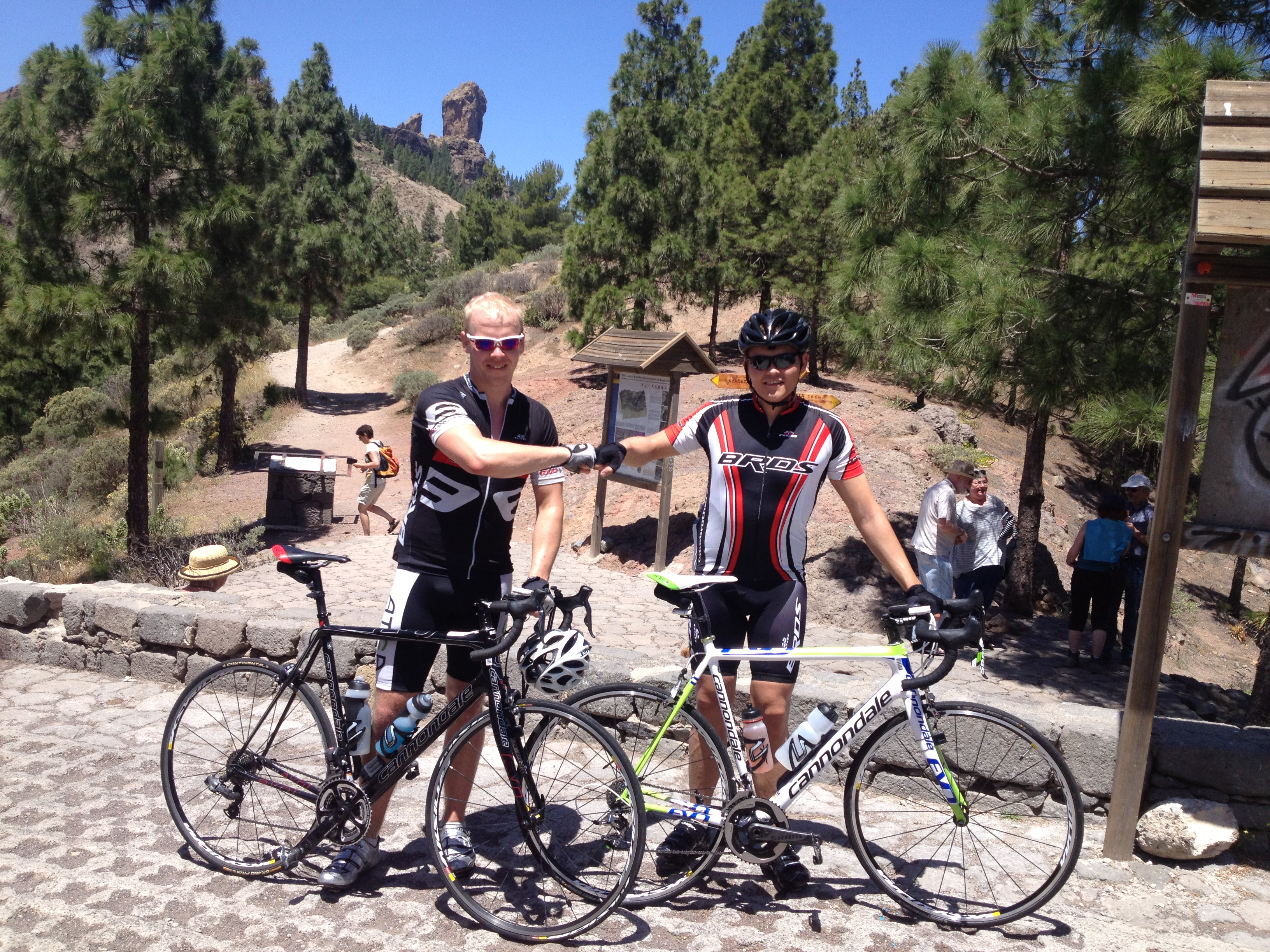 Gran  Canaria  –  Dag  4:  Toppen  av  Gran  Canaria  og  en  fantastisk  dag  på  sykkel