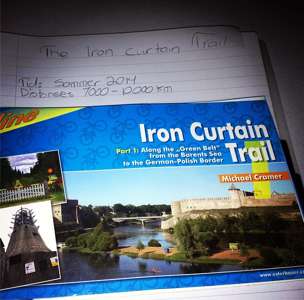 Planleggingen  av  The  Iron  Curtain  Trail  2014  i  full  gang