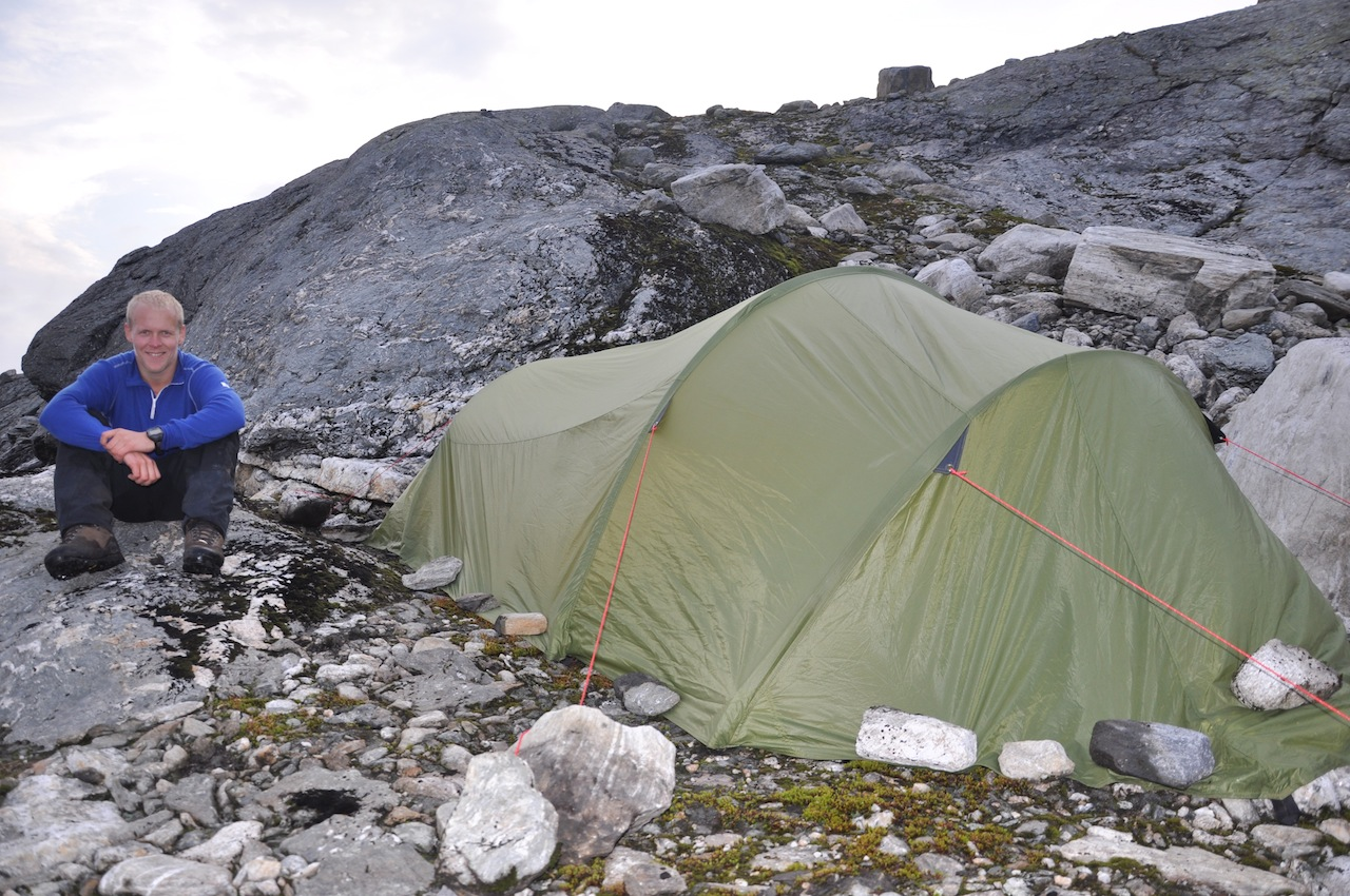 Fjelltur Dag 2: Mosdalsbu-Langtjørn