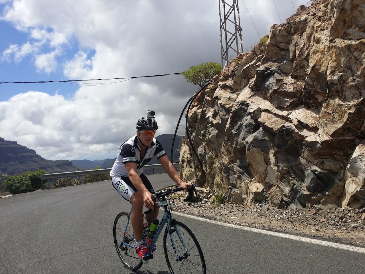 Gran Canaria – Dag 2: Fantastisk dag, mye fjell og høyere tempo
