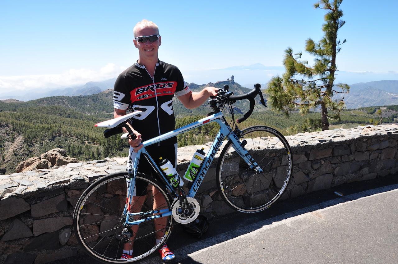 Gran  Canaria  –  Dag  6:  Tur  til  Pico  de  las  Nieves,  mye  stigninger  og  et  fall