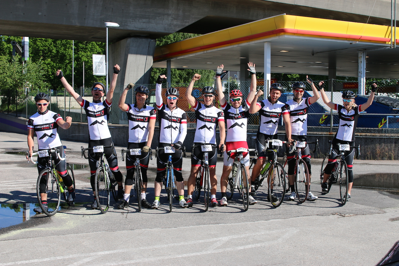 Team  Challenge4you  syklet  Colorline  Setesdal  Tour