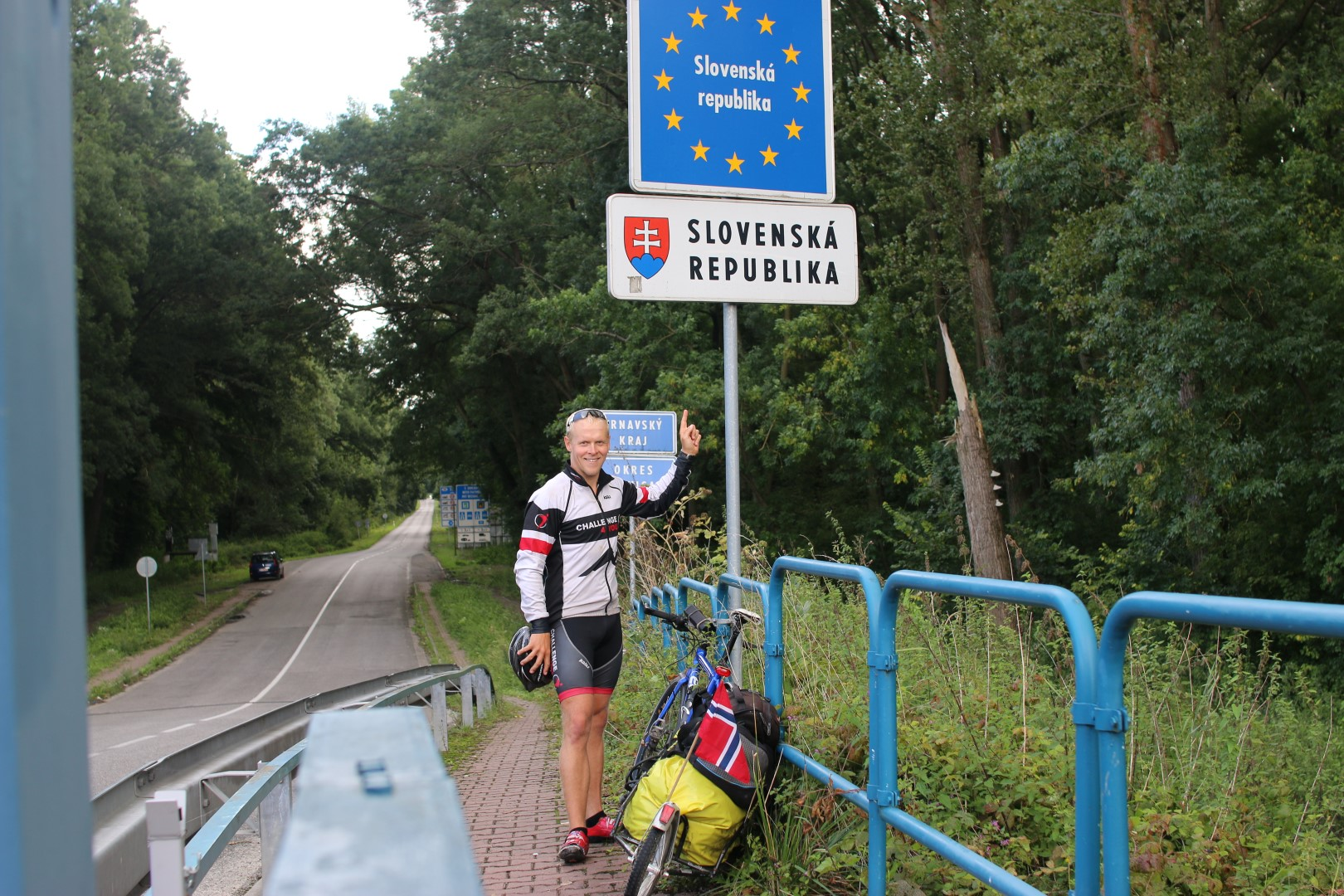 Fantastic  day  on  the  bike  from  Austria,  through  Slovakia  and  back  to  Austria