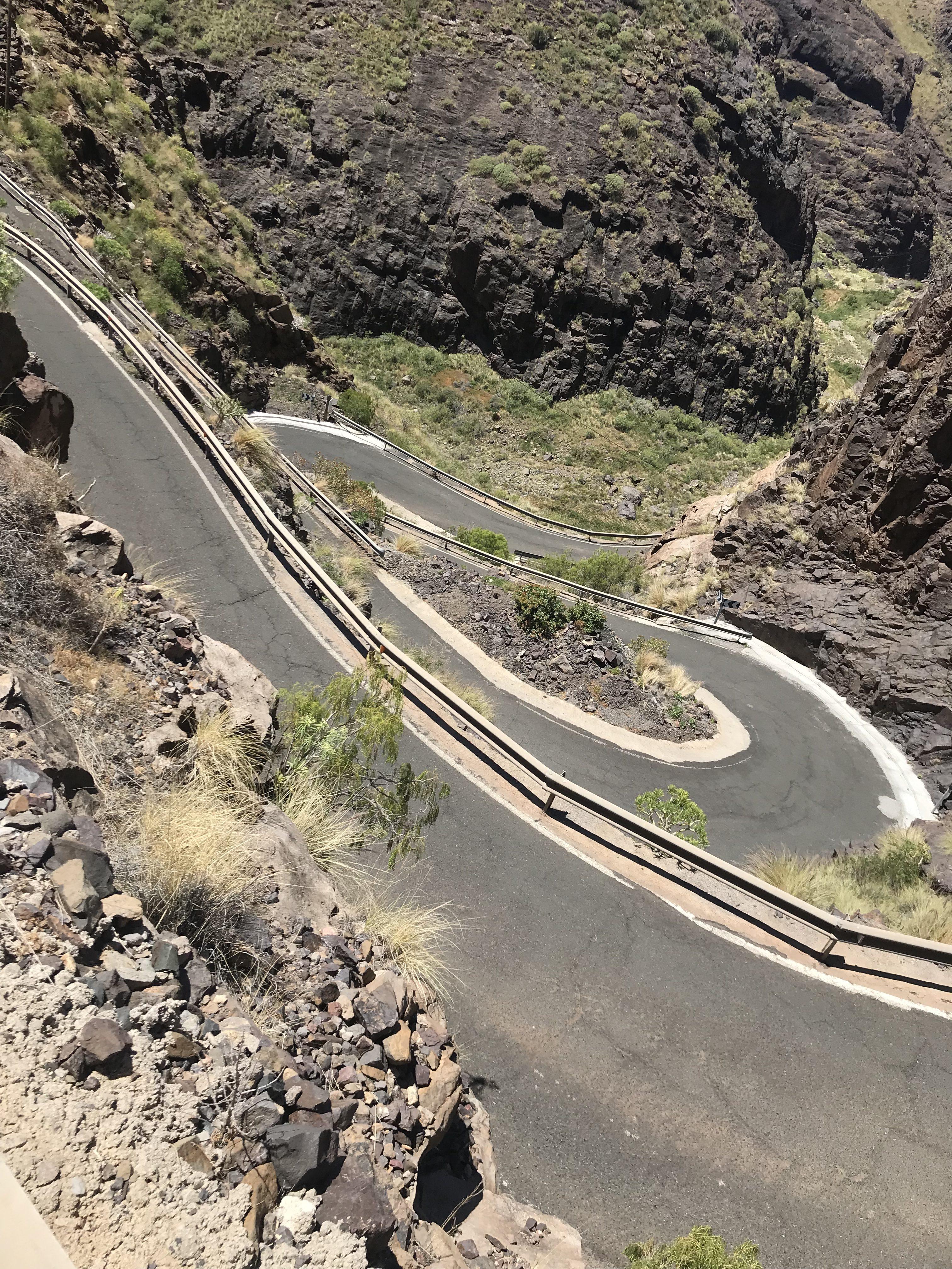 Gran Canaria – Dag 3 – Klatring og stengte vegar