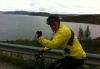 Morten på vei mot Sørstraumen