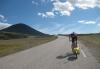På vei opp på Ringebufjellet