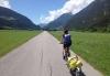 Anna på vei mot Alpene