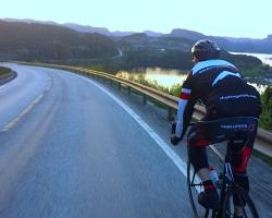 Tom i fullt driv mot Flekkefjord
